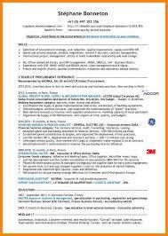 procurement resume 7 procurement resume letter of apeal