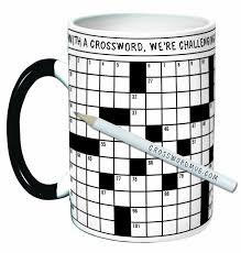 crossword puzzle mug cooking gizmos