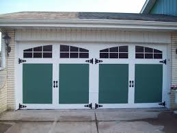 Pictures Of Garage Doors With Decorative Hardware How To Paint A Garage Door In 7 Simple Steps