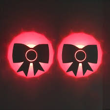 led light up pasties bows led pasties sasswear