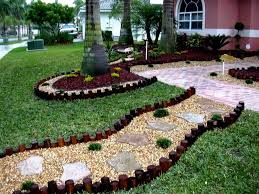 the beauty of front yard landscaping ideas with rocks on a budget