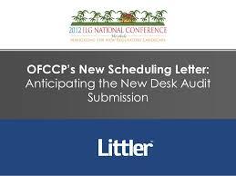 Desk Audit Definition 2012 National Ilg Presentation