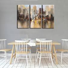 yhhp canvas print city wall decor for home decoration 3pcs 33 53