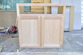 Bathroom Vanities That Look Like Furniture Furniture Style Bathroom Vanity Made From Stock Cabinets Part 1