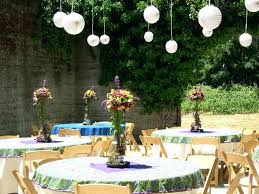 Cool Easter Decoration For Outside Outdoor Party Easter Ideas For