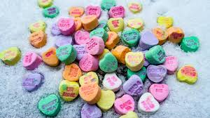 valentines day candy hearts ode to the s day candy heart baumert