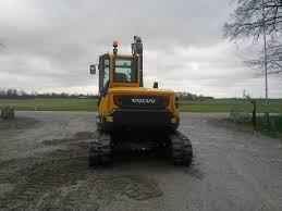 used volvo ecr 88 d uthyres mini excavators 7t 12t year 2014