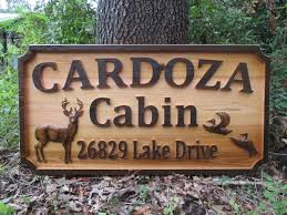 custom outdoor sign outside name sign wood carved signs cedar