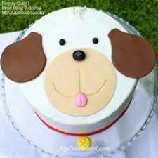 dog cake pin by carolynn coppedge on puppy cake