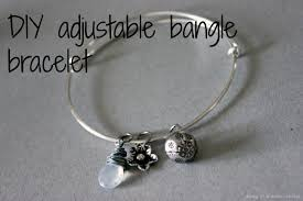 bangle charm bracelet diy images Diy adjustable bangle bracelet diary of a mad crafter jpg