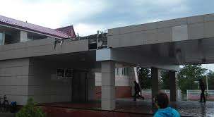 300 Square Meters Hurricane Rips Off Roofs In Pavlodar Oblast Emergencies Tengrinews