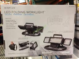 winplus led utility light review winplus led folding worklight costcochaser