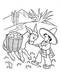 farm animal coloring pages stubborn donkey coloring