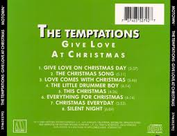 temptations christmas album give at christmas the temptations songs reviews credits