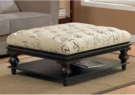 Ottoman Table Combination Large Fabric Ottoman Ottoman Coffee Table Fabric Clear Rectangle