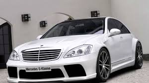 mercedes s class w221 tuning black edition body kit youtube