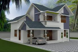 4BHK Stylish Kerala style low cost house