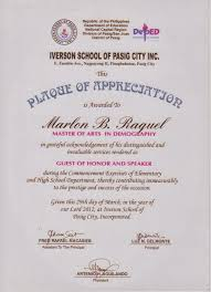sample text for certificate of appreciation tidbits and bytes plaque of appreciation for the guest of honor