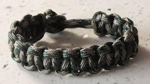paracord bracelet buckle make images Easy paracord the classic cobra weave survival bracelet without jpg