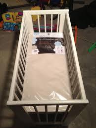 Portable Crib Mattress Size by Gulliver Mini Crib Ikea Hackers Ikea Hackers