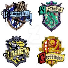 Harry Potter House by Harry Potter Houses Pixel Art Edition By Mihneasto On Deviantart