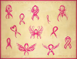 cross with breast cancer ribbon collection