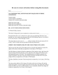 sample demand letter to debt buyer in california