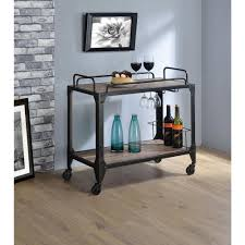 Dining Room Cart by Rustic Bar Cabinets U0026 Carts Kitchen U0026 Dining Room Furniture