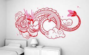 Dragon XXL Wall Decal Nursery Kids Rooms Wall Decals Kids Room - Kids rooms decals