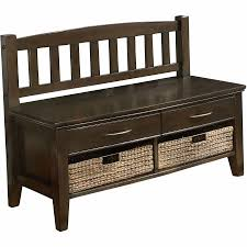 Storage Bench With Drawers Simpli Home Williamsburg Entryway Storage Bench With Drawers