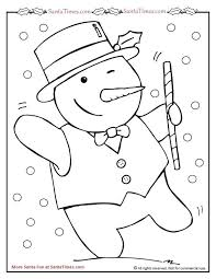 coloring pages snow man coloring snowman coloring pages