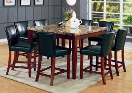 dining room table marble top furniture of throughout set decor