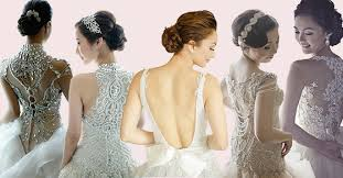 Designer Wedding Dresses Gowns Wedding Dress Back Designs To Die For Philippines Wedding Blog