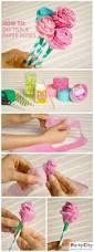 creative ideas diy beautiful tissue paper flowers paper