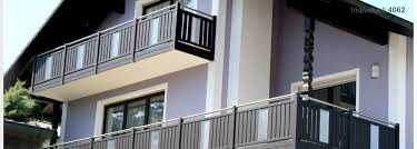 balkone alu aluminiumbalkon alugeländer und balkongeländer aus aluminium