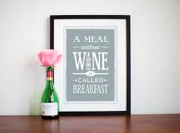 wine print shabby chic decor typography wine quote kitchen