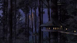 tree house art fantasy wallpaper creative and fantasy