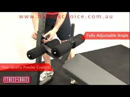 Adjustable Abdominal Bench Bodyworx C605ab Adjustable Abdominal Bench Fitness Choice Youtube