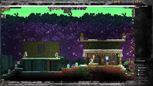 starbound constructing a house in 10 minutes youtube