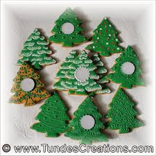 the gingerbread artist christmas tree cookie variations for one