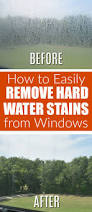 how to clean glass shower doors with hard water stains remove hard water stains nujits com