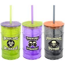 Halloween Cups Cool Gear 12oz Toxic Tumbler Seasonal Halloween Halloween