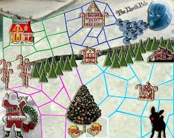 North Pole Map The North Pole Map