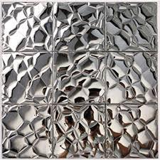 mosaic tile designs mosaic tile silver stainless steel tile patterns kitchen