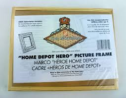 amazon com home depot hero kids workshop picture frame craft kit