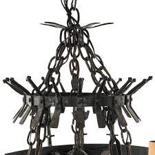 Black Gothic Chandelier Pendants U0026 Chandeliers Désirant