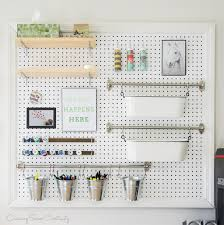 peg board how to build a pegboard craft supplies pegboard organizer