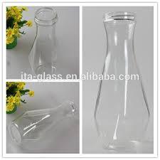 Vase Shaped Jug 1l Unique Vase Shape Hand Made Heat Resistant Borosilicate Glass