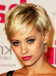 short hairstyles for older women back view