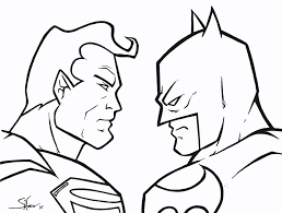 dc comics batman vs superman coloring pages at dc snapsite me